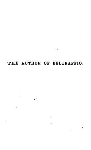 The Author of Beltraffio by Henry James, Jr.