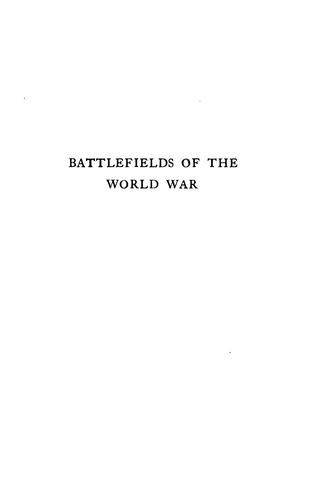 Download Battlefields of the World War, western and southern fronts