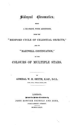 Sidereal chromatics