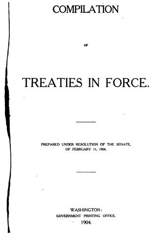 Compilation of treaties in force.
