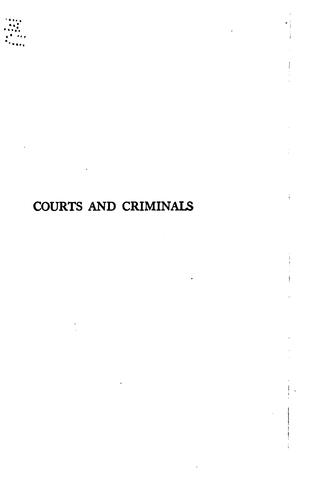 Download Courts and criminals