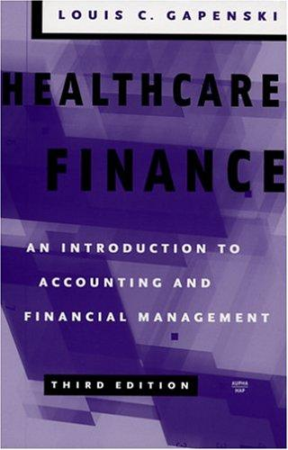 Download Healthcare Finance