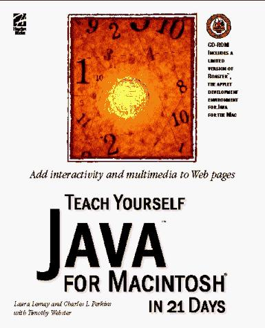 Download Teach yourself Java for Macintosh in 21 days