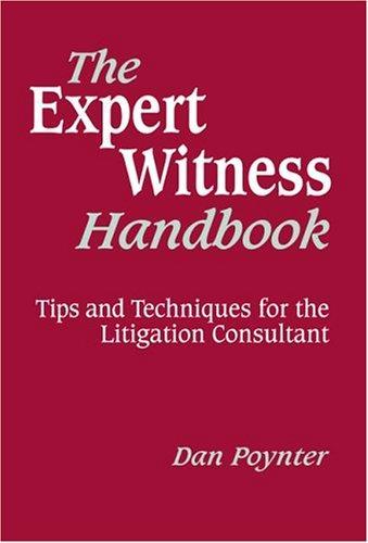 Download The Expert Witness Handbook