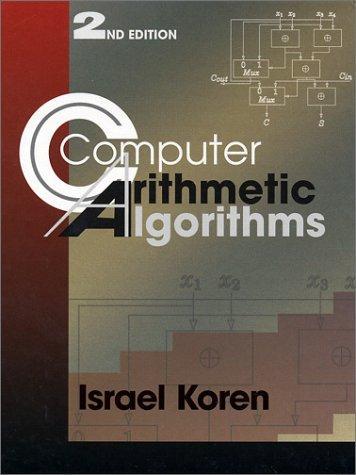 Download Computer Arithmetic Algorithms