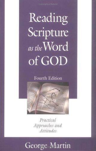 Download Reading Scripture As the Word of God