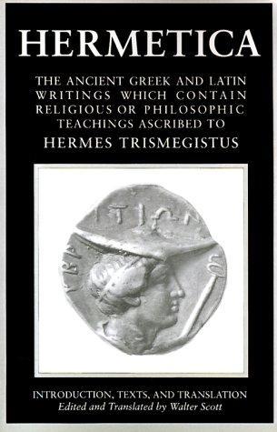 Hermetica, Vol. 1