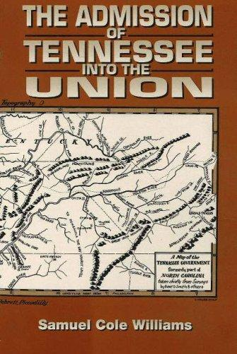 Download The Admission of Tennessee Into the Union