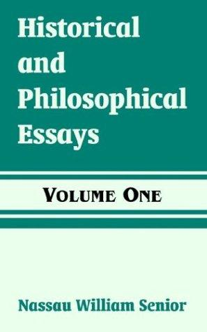 Download Historical And Philosophical Essays