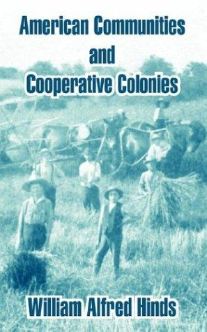 American Communities And Cooperative Colonies