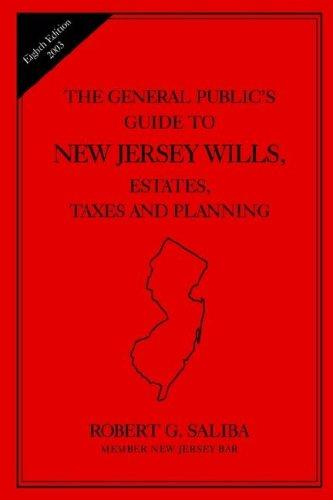 Download The general public's guide to New Jersey wills, estates, taxes, and planning