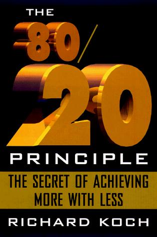 Download The 80/20 principle