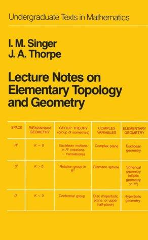 Download Lecture notes on elementary topology and geometry