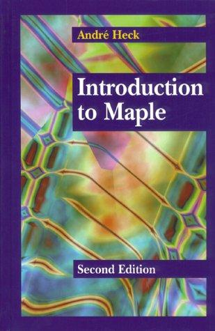 Download Introduction to Maple