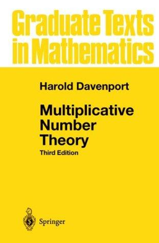 Download Multiplicative number theory