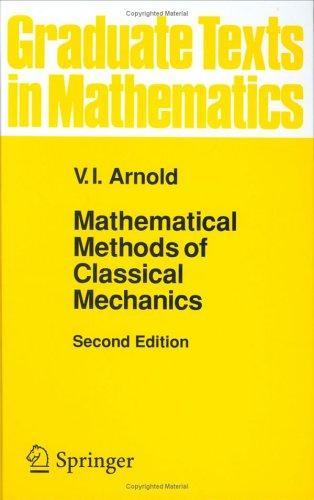 Download Mathematical methods of classical mechanics