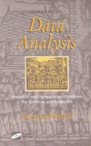 Statistical and computational methods in data analysis