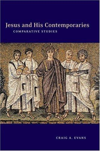 Download Jesus and his contemporaries