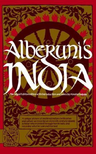 Alberuni's India.