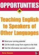 Opportunities in Teaching English to Speakers of Other Languages (Opportunities in)