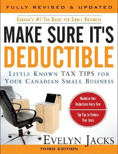 Make Sure It's Deductible