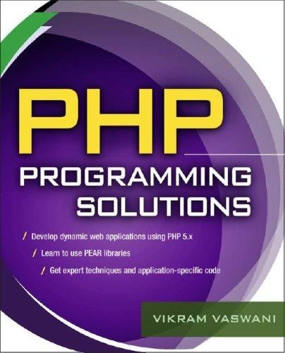 Download PHP Programming Solutions