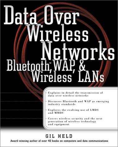 Data Over Wireless  Networks