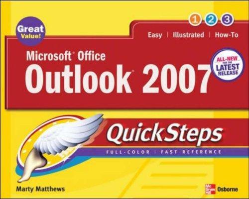 Microsoft Office Outlook 2007 QuickSteps (Quicksteps)