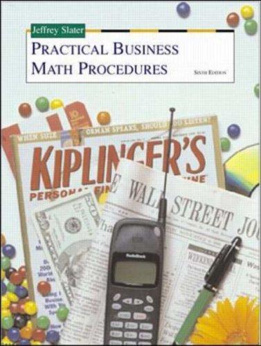 Download Practical Business Math Procedures