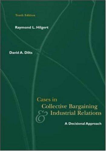 Download Cases in collective bargaining & industrial relations