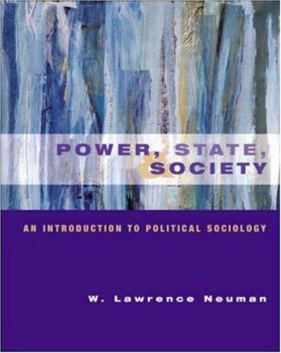 Power, State and Society