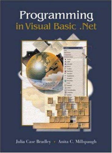 Download Programming in Visual Basic .Net