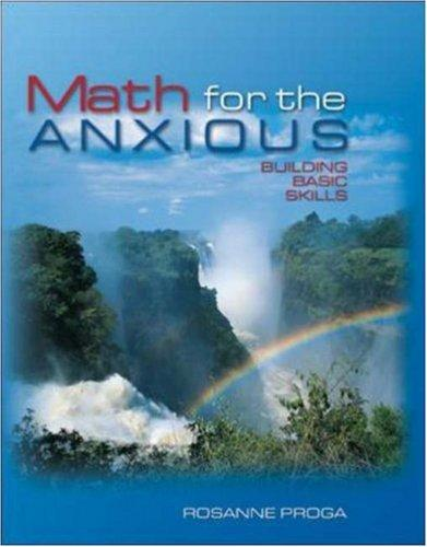 Math for the Anxious