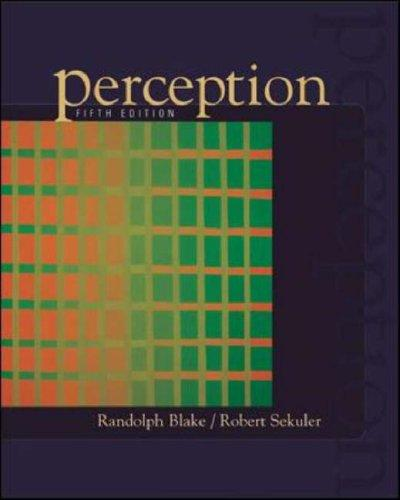 Image for Perception (Fifth Edition)