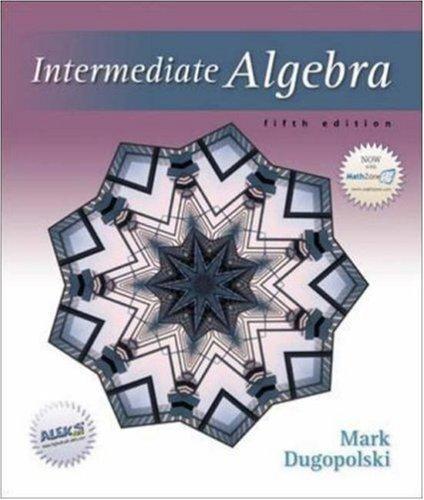 Intermediate Algebra (5th Edition)