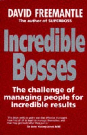 Incredible bosses