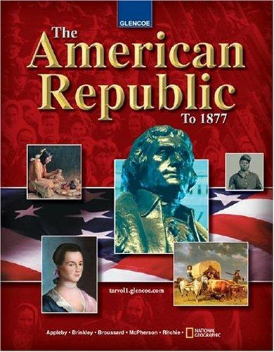 Download The American Republic to 1877, Student Edition