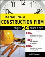 Managing A Construction Firm On Just 24 Hours A Day PDF Download