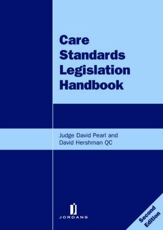 Download Care standards legislation handbook