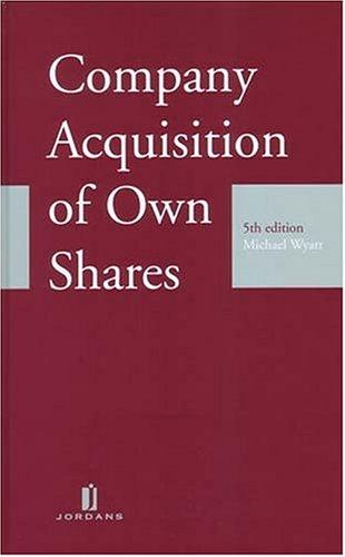 Download Company Acquisition Of Own Shares