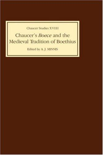 Image for Chaucer's Boece and the Medieval Tradition of Boethius (Chaucer Studies)