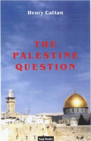 Download The Palestine Question