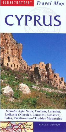Cyprus Travel Map (Globetrotter Travel Map)
