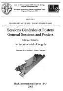 Download Sessions générales et posters