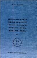 Bibliographie biblique.