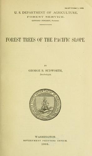Download Forest trees of the Pacific slope.