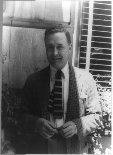 Photo of F. Scott Fitzgerald
