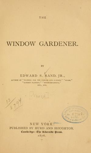 Download The window gardener