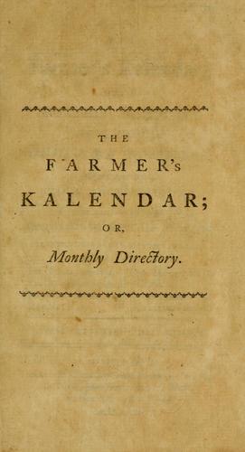 Download The farmer's kalendar