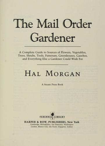 The Mail Order Gardener